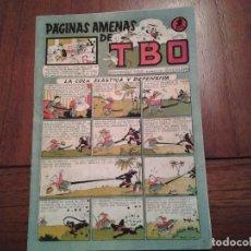 Tebeos: TBO - PAGINAS AMENAS - SIN NUMERAR - Nº 22 - AÑO 1945 - LA COLA ELASTICA Y DEFENSIVA. Lote 90575410