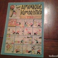 Tebeos: TBO - ALMANAQUE HUMORISTICO AÑO 1952 - EL INGENIOSO RICARDITO. Lote 90763370