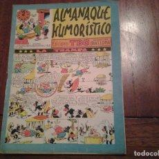 Tebeos: TBO - ALMANAQUE HUMORISTICO AÑO 1954 - LA TRAMPA. Lote 90763945