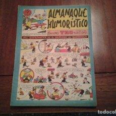 Tebeos: TBO - ALMANAQUE HUMORISTICO AÑO 1955 - UN CAPRICHITO DE LA SEÑORA DE RABIZUELA. Lote 90764290