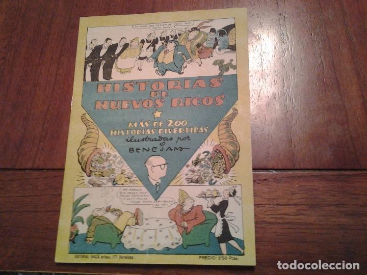 Tebeos: TBO - HISTORIAS DE NUEVOS RICOS ILUSTRADO POR BENEJAM - HISTORIAS DE MEDICOS ILUSTRADO POR URDA - Foto 2 - 90764930