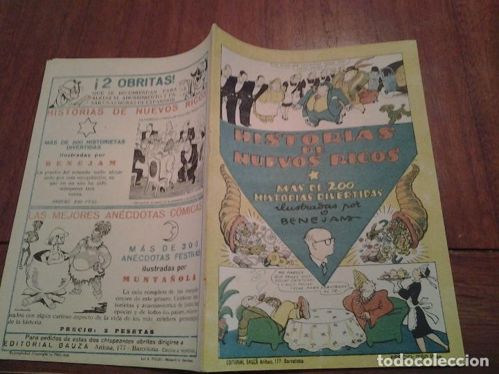 Tebeos: TBO - HISTORIAS DE NUEVOS RICOS ILUSTRADO POR BENEJAM - HISTORIAS DE MEDICOS ILUSTRADO POR URDA - Foto 10 - 90764930