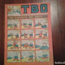 Tebeos: TBO - Nº 98 - UN AMANTE DEL ARTE. Lote 91751920