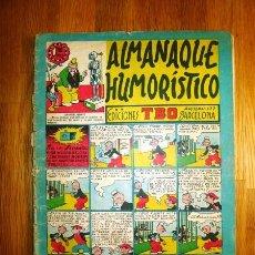 Tebeos: TBO : ALMANAQUE HUMORÍSTICO [PARA 1951]. Lote 95696247
