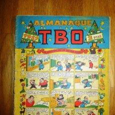 Tebeos: ALMANAQUE TBO 1951. Lote 95696287