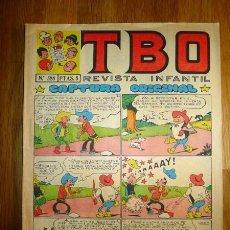 Tebeos: TBO : REVISTA INFANTIL. AÑO LIII ; Nº 588 ; 31 ENERO 1969. Lote 95696327