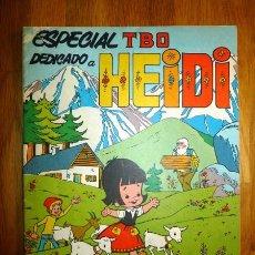 Tebeos: TBO. ESPECIAL Nº 1 : DEDICADO A HEIDI. DICIEMBRE 1975 / ADAPTACIÓN Y DIBUJOS JOSÉ CUBERO IBOR. Lote 95696363