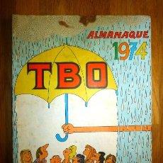 Tebeos: TBO : ALMANAQUE PARA 1974. Lote 95696395