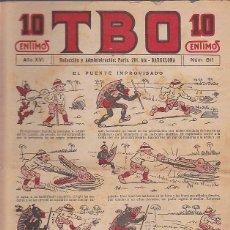 Livros de Banda Desenhada: COMIC COLECCION TBO Nº 811. Lote 97826995