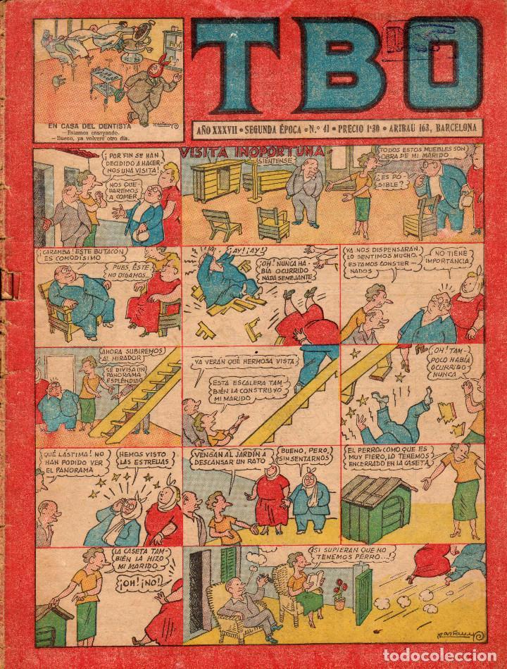 TBO. SEGUNDA ÉPOCA. AÑO XXXVII. NÚMERO 41 (Tebeos y Comics - Buigas - TBO)