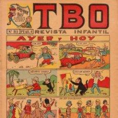 Livros de Banda Desenhada: TBO. REVISTA PARA TODOS. AÑO LI. NÚMERO 511. BUEN ESTADO. Lote 98941043