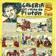 Tebeos: COMIC ORIGINAL EPISODIO EXTRAORDINARIOS EDICIONES TBO S LA GALERIA DEL REINO DE PLUTON. Lote 99124751