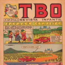 Livros de Banda Desenhada: TBO. REVISTA INFANTIL. AÑO LI. NÚMERO 529. MUY BUEN ESTADO. Lote 100177879