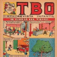 Livros de Banda Desenhada: TBO. REVISTA INFANTIL. AÑO LI. NÚMERO 530. MUY BUEN ESTADO. Lote 100178075