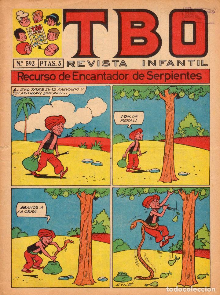 TBO. REVISTA INFANTIL. AÑO LIII. NÚMERO 592 (Tebeos y Comics - Buigas - TBO)