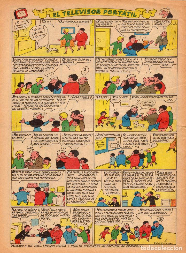 Tebeos: TBO. Revista infantil. Año LIII. Número 592 - Foto 2 - 100240075