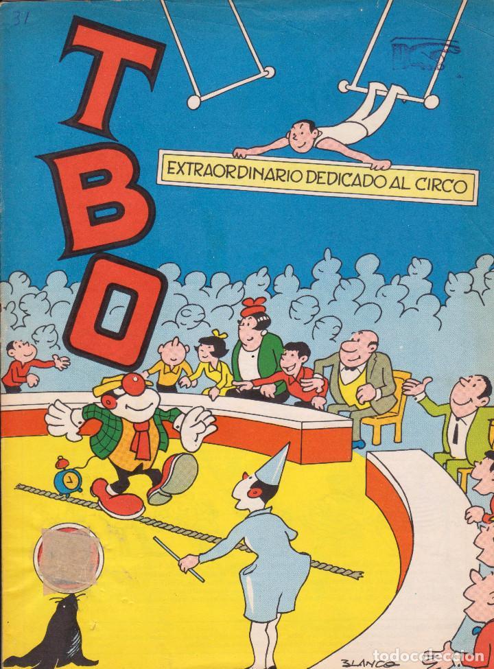 TBO. REVISTA INFANTIL. EXTRAORDINARIO DEDICADO AL CIRCO. MUY BUEN ESTADO (Tebeos y Comics - Buigas - TBO)