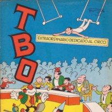 Tebeos: TBO. REVISTA INFANTIL. EXTRAORDINARIO DEDICADO AL CIRCO. MUY BUEN ESTADO. Lote 100577083