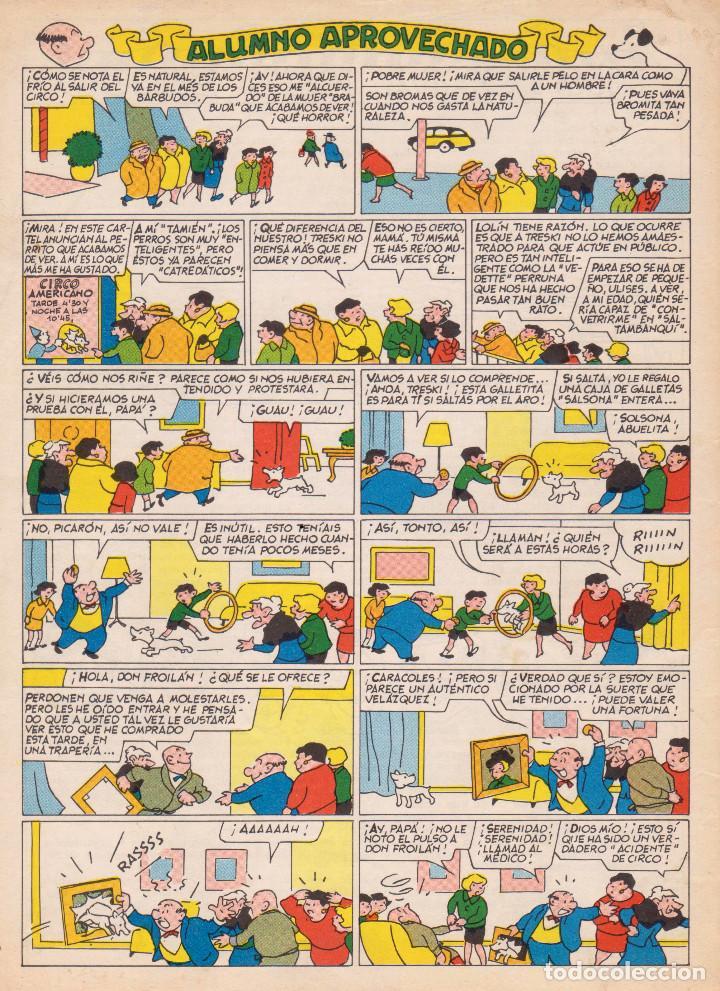 Tebeos: TBO. Revista infantil. Extraordinario dedicado al Circo. Muy buen estado - Foto 2 - 100577083
