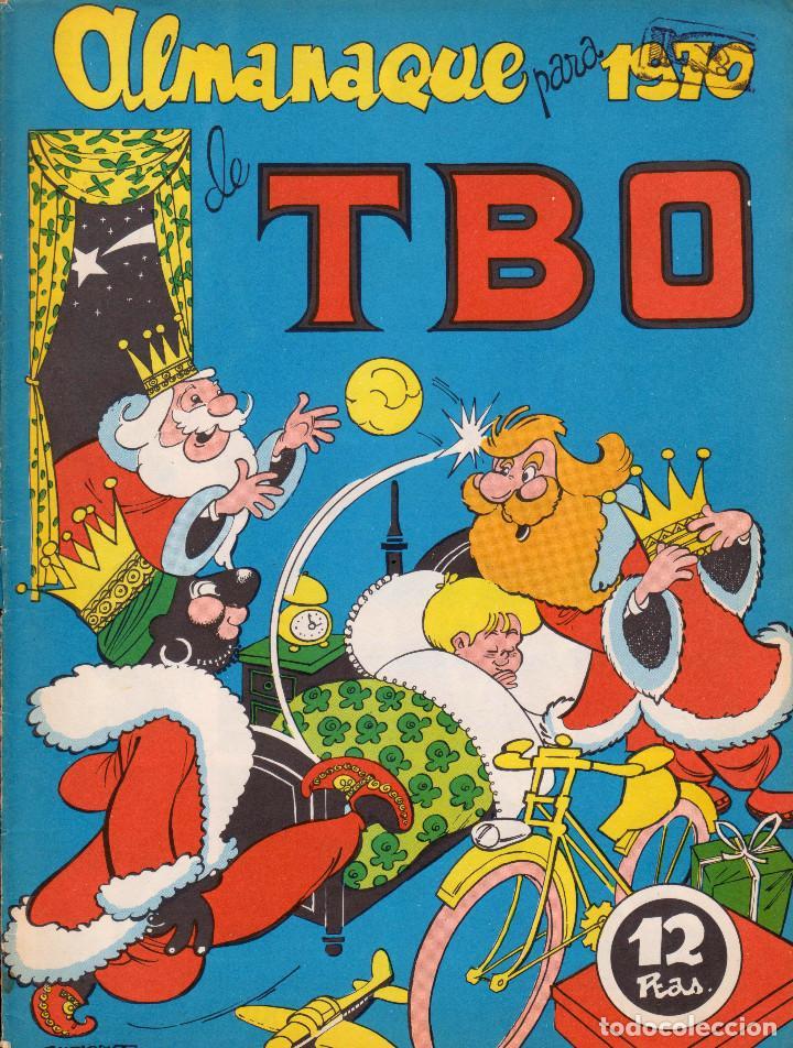 TBO. REVISTA INFANTIL. ALMANAQUE TBO PARA 1970 (Tebeos y Comics - Buigas - TBO)