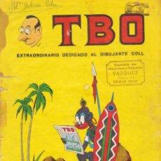 Tebeos: TBO. REVISTA PARA TODOS. NÚMERO EXTRAORDINARO DEDICADO AL DIBUJANTE COLL. Lote 100651415