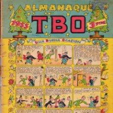 Tebeos: ALMANAQUE TBO 1955. Lote 100760887