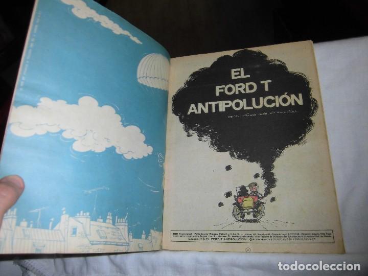 Tebeos: EXTRAORDINARIO TBO SERIE AZUL F SELECCION.CON CINCO NUMEROS.BUIGAS 1973 - Foto 3 - 101689207