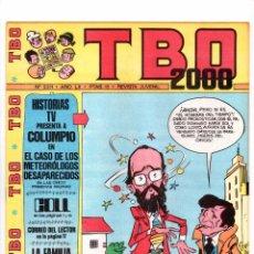 Tebeos: Nº 2211 TBO 2000 EL TBO 1972-1983.. Lote 102088719