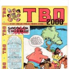 Tebeos: Nº 2217 TBO 2000 EL TBO 1972-1983.. Lote 102089087