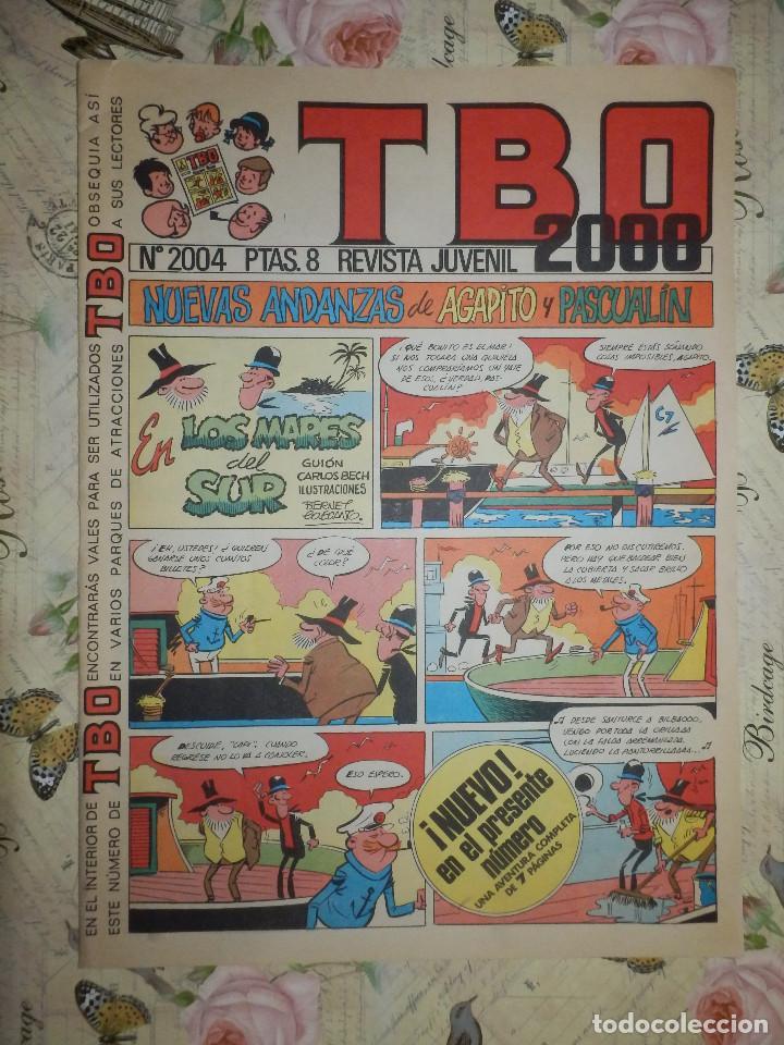 TEBEO - COMIC - TBO 2000 - Nº 2004 -12 DE ENERO DE 1973 - BRUGUERA (Tebeos y Comics - Buigas - TBO)