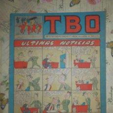 Tebeos: TEBEO - COMIC - TBO - AÑO XXXVIII - Nº 72 - BRUGUERA. Lote 102736651