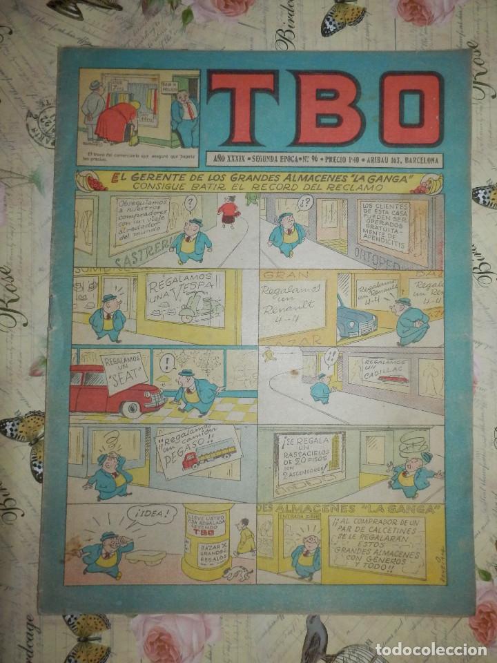 TEBEO - COMIC - TBO - AÑO XXXIX - Nº 96 - BRUGUERA (Tebeos y Comics - Buigas - TBO)