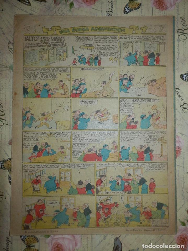 Tebeos: TEBEO - COMIC - TBO - AÑO XXXIX - Nº 96 - BRUGUERA - Foto 2 - 102736811