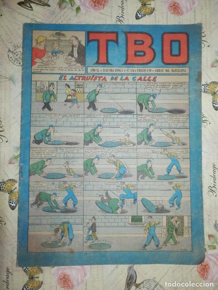 TEBEO - COMIC - TBO - AÑO XL - Nº 126 - BRUGUERA (Tebeos y Comics - Buigas - TBO)
