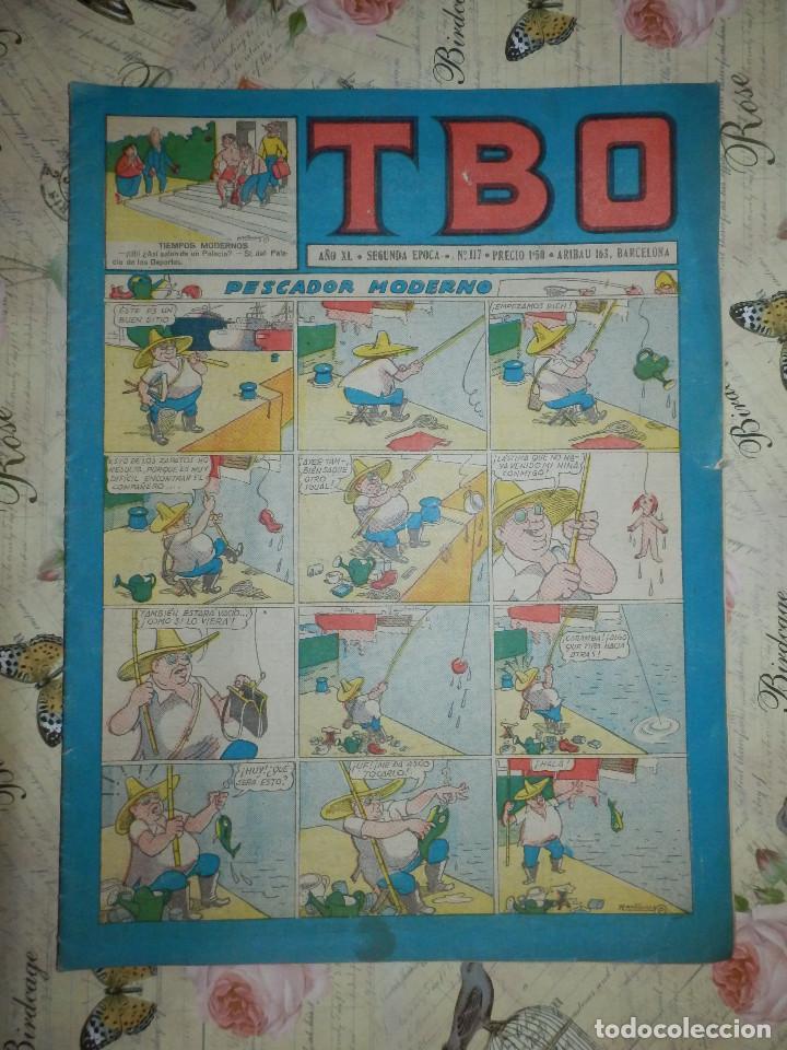 TEBEO - COMIC - TBO - AÑO XL - Nº 117 - BRUGUERA (Tebeos y Comics - Buigas - TBO)