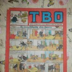 Tebeos: TEBEO - COMIC - TBO - AÑO XLI - Nº 128 - BRUGUERA - AÑO 1952. Lote 102740291