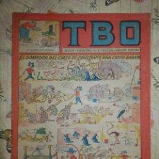 Tebeos: TEBEO - COMIC - TBO - AÑO XXXVII - Nº 35 - BRUGUERA - AÑO 1952. Lote 102740527