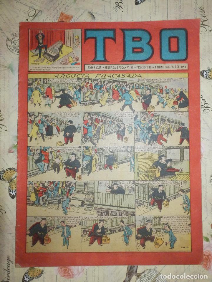 TEBEO - COMIC - TBO - AÑO XXXIX - Nº 86 - BRUGUERA (Tebeos y Comics - Buigas - TBO)