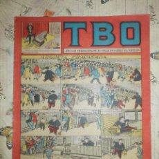 Tebeos: TEBEO - COMIC - TBO - AÑO XXXIX - Nº 86 - BRUGUERA . Lote 102740927