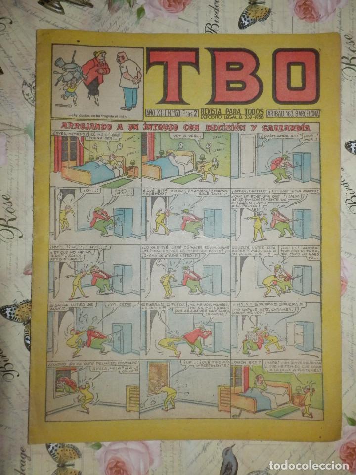 TEBEO - COMIC - TBO - AÑO XLIII - Nº 160 - BUIGAS - (Tebeos y Comics - Buigas - TBO)