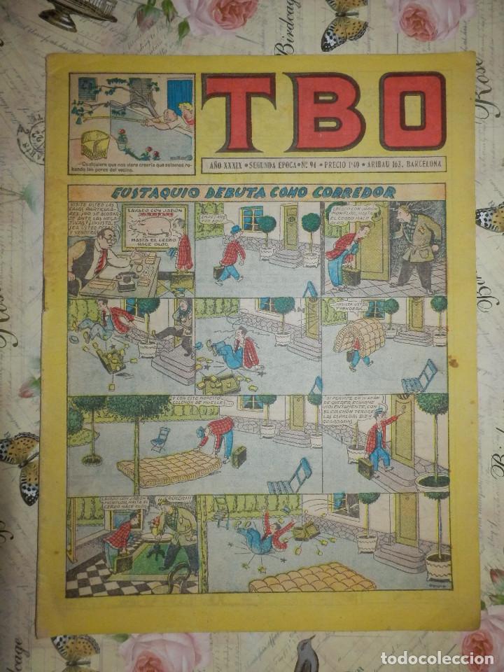 TEBEO - COMIC - TBO - AÑO XXXIX - Nº 94 - BUIGAS - (Tebeos y Comics - Buigas - TBO)