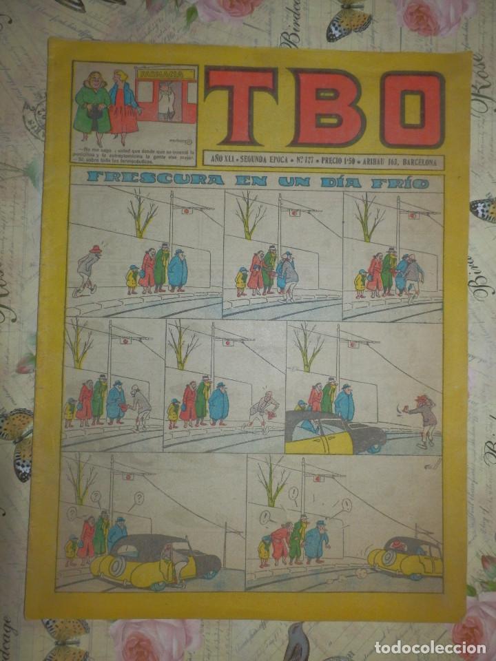 TEBEO - COMIC - TBO - AÑO XLI - Nº 127 - BUIGAS - (Tebeos y Comics - Buigas - TBO)