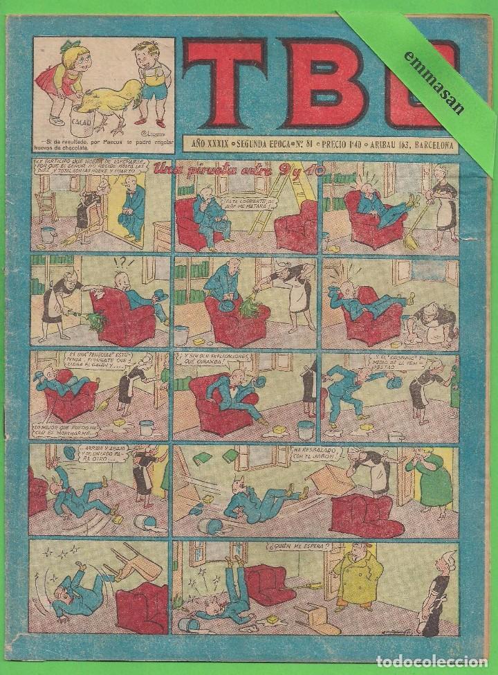 TBO - Nº 81 - UNA PIRUETA ENTRE 9 Y 10 - BUIGAS - (1955). (Tebeos y Comics - Buigas - TBO)