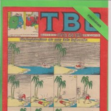 Tebeos: TBO - Nº 131 - REFUGIÁNDOSE EN UNA ISLA INFAUSTA - BUIGAS - (1957).. Lote 103415991