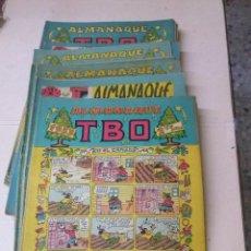Tebeos: OFERTA TBO-COLECCION COMPLETA DE ALMANAQUES Y ALMANAQUES HUMORISTICOS 23 NS. 1952-1963. Lote 103585999