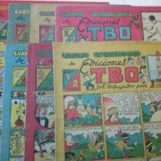 Tebeos: TBO-COLECCION COMPLETA DE 8 NS. CUADERNO EXTRAORDINARIO EDICIONES TBO-BUIGAS- GA. Lote 103586719