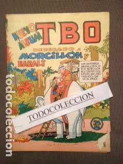 TBO- NUEVO ÁLBUM DEDICADO A MORCILLÓN Y BABALI- 1958 MARINO BENAJAM (Tebeos y Comics - Buigas - TBO)
