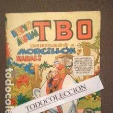 Tebeos: TBO- NUEVO ÁLBUM DEDICADO A MORCILLÓN Y BABALI- 1958 MARINO BENAJAM. Lote 104034995