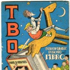 Tebeos: TBO EXTRAORDINARIO DEDICADO AL LIBRO -ORIGINAL- AÑO 1958. Lote 104040583