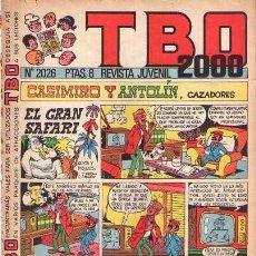 Tebeos: TBO 2000 (BUIGAS) Nº 2026. Lote 104652019